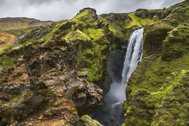 Wasserfälle Iceland