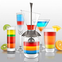 Post thumbnail of Drink Only Rainbow Cocktails