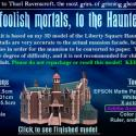Post Thumbnail of Disney's Haunted Mansion 3 D Model