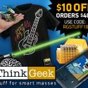 Post Thumbnail of Thinkgeek $10 Off $40 Order Coupon Code