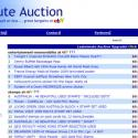 Post Thumbnail of New Lastminute Auction