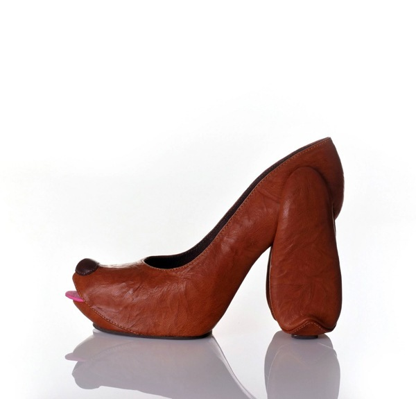 необычная коллекция обуви Коби Леви